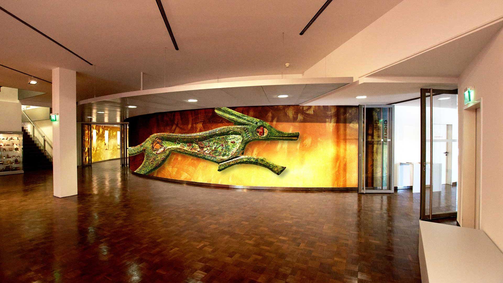 Media installation as exhibition concept for the Museum MKK Dortmund